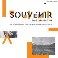 SOUVENIR I Das Magazin