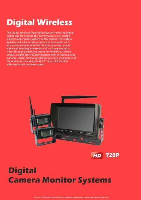 Kocchi's | 720P Digital Wireless Camera System 776H40532