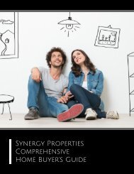 Synergy Properties Home Buyer's Guide