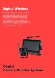 Digital Wireless Backup Camera System | Kocchi's