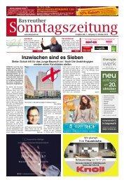 2019-10-13 Bayreuther Sonntagszeitung