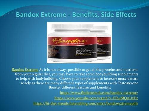 Bandox Extreme - Best Male Enhancement Ingredients