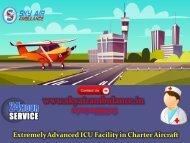 Select Sky Air Ambulance in Aurangabad and Bokaro at Low Fare