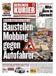 Berliner Kurier 12.10.2019