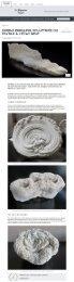 Actualités Belles Demeures - Simone Pheulpin, sculptrice du textile à létat brut