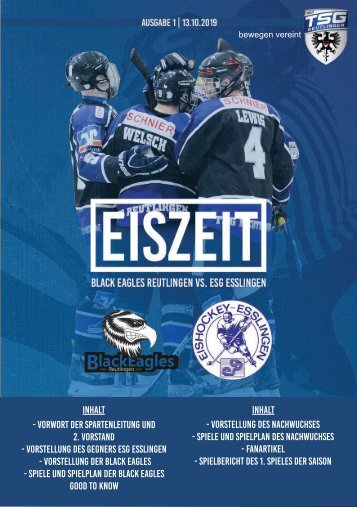 TSG Black Eagles vs. ESG Esslingen 20191013 online