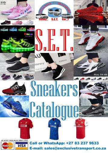 Sneakers Catalogue