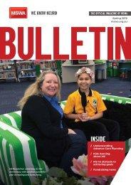 MSWA Bulletin Magazine Spring 2019