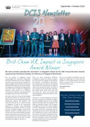 DCIS Newsletter September and October 2019