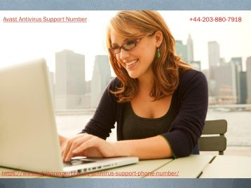Avast Antivirus Support Number +44-203-880-7918 Toll Free Number