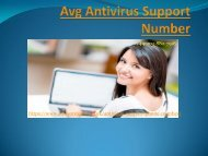 Avg Antivirus Support Number