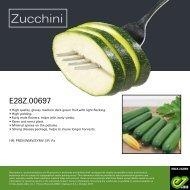 Leaflet zucchini E28Z.00697