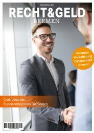 Recht & Geld Herbst/Winter 2019
