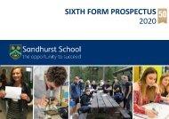 Sixth Form Prospectus 2020
