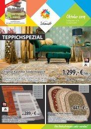 Teppichspezial von Teppich Schmidt