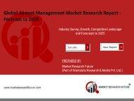Airport Management Market