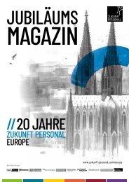 Jubiläumsmagazin Zukunft Personal Europe 2019