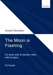 Skempton: The Moon is Flashing (chamber version)