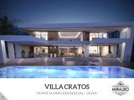 Villa CRATOS - Javea Costa Blanca