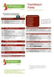 Frischfleisch Windmann KW42/19