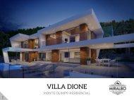 Villa DIONE - Javea Costa Blanca