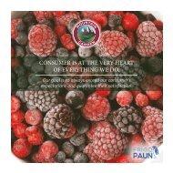 FRIGO-PAUN Catalog 2019