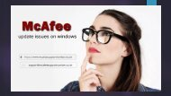 McAfee Update Problems  Update McAfee Antivirus software