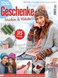 Zeitschrift: 100 Seiten Geschenke - Stricken & Häkeln (HU007) - Auszug