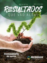 Revista Microgeo - Fechamento de Safra - 2017/2018