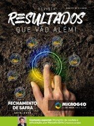 Revista Microgeo - Fechamento de Safra - 2018/2019