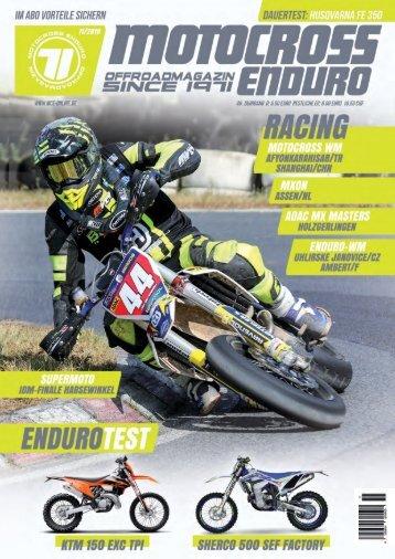 Motocross Enduro Ausgabe 11/2019