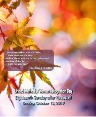 10_13_2019 Seventeenth Sunday After Pentecost Web
