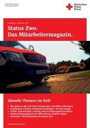 STATUS ZWO - Mitarbeitermagazin, Ausgabe 29