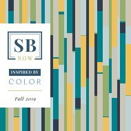 SB Now - Inspired by Color - Fall 2019 Lookbook