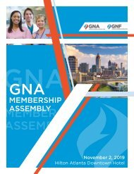 2019 Georgia Nurses Association Yearbook