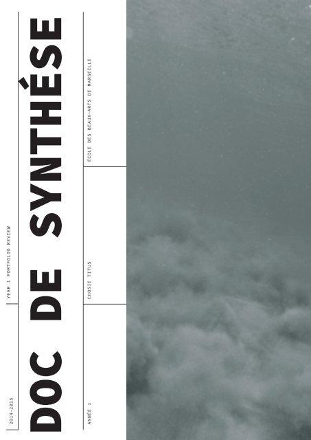 DOC De SYNTHESE
