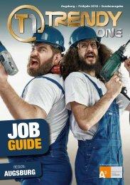 TRENDYone   Job Guide Frühjahr 2018   Region Augsburg