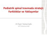 Pediatrik Spinal Spinetr 40