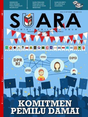 Suara - Edisi 20 - Majalah Komisi Pemilihan Umum