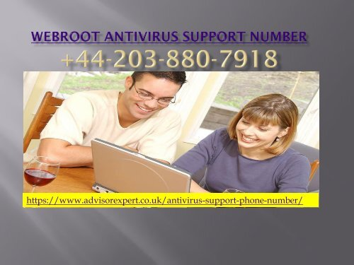 Webroot Antivirus Support Number
