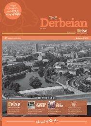 The Derbeian Magazine Autumn 2019 edition