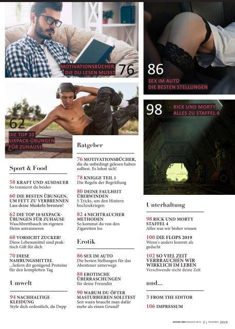 AJOURE´ Men Magazin November 2019