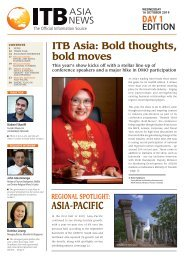 ITB Asia News 2019 Day 1 Edition