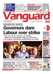 14102019 - MINIMUM WAGE: Governors dare Labour over strike