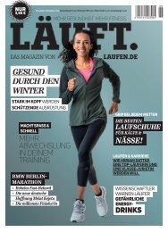 LÄUFT. Die November/Dezember-Ausgabe probelesen