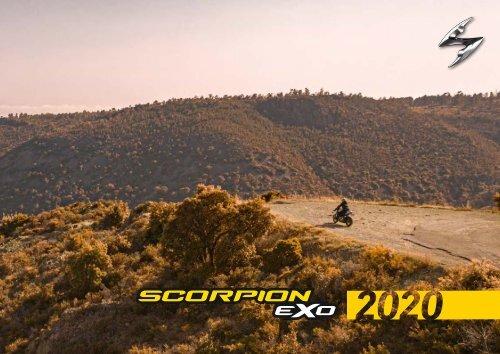 Scorpion 10/ /exo-r1/Air ogi black-blue L /66/ /292/