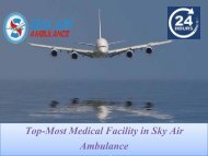 Get Professional Medical Dispatcher in Air Ambulance from Bagdogra