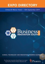 Business Innovation South Expo 2019