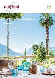 Gastgeberverzeichnis Dorf Tirol 2020