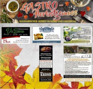 Gastro Herbst Horb